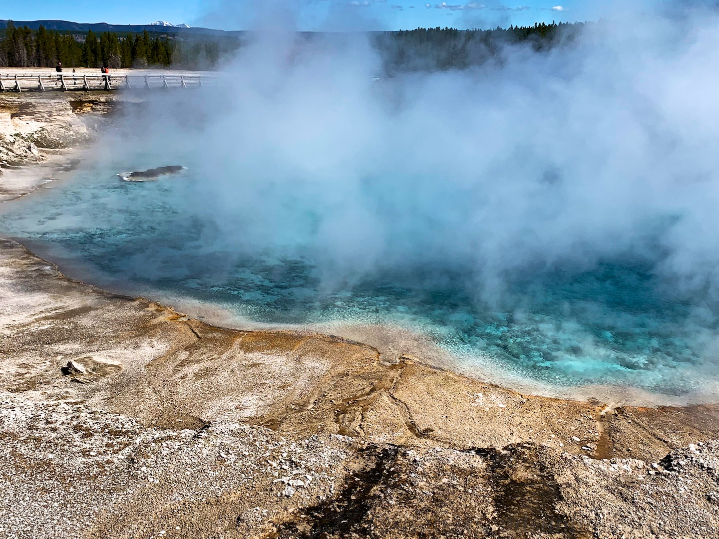 Excelsior Geyser, Yellowstone National Park, USA