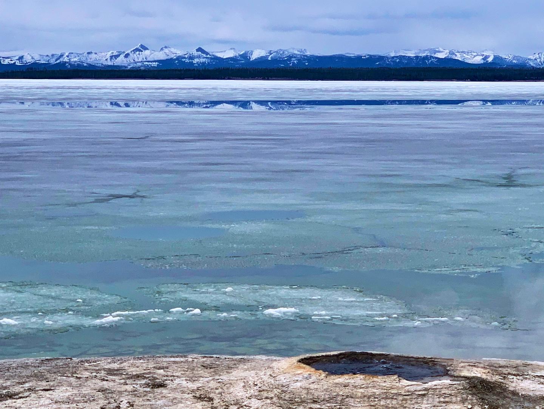 Lake Yellowstone at West Thumb Geyser Basin