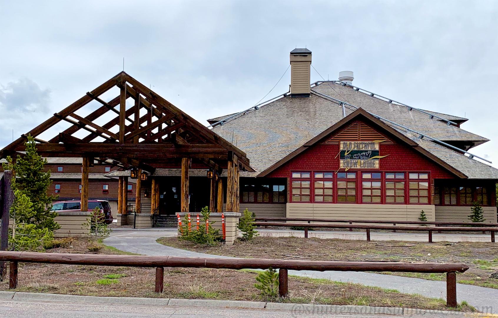 Old Faithful Snow Lodge, Yellowstone National Park, USA