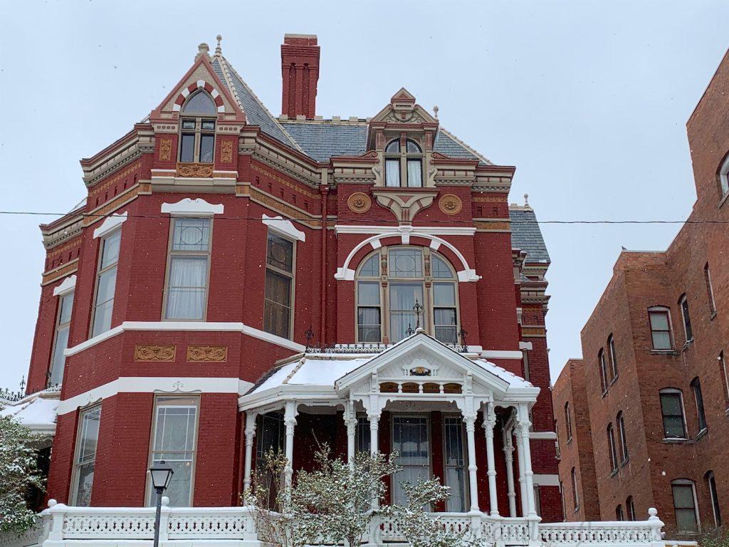 Clark Mansion, Butte, Montana, USA