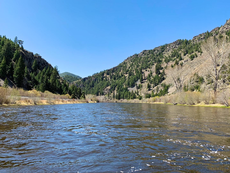 Floating the Big Hole River, Montana