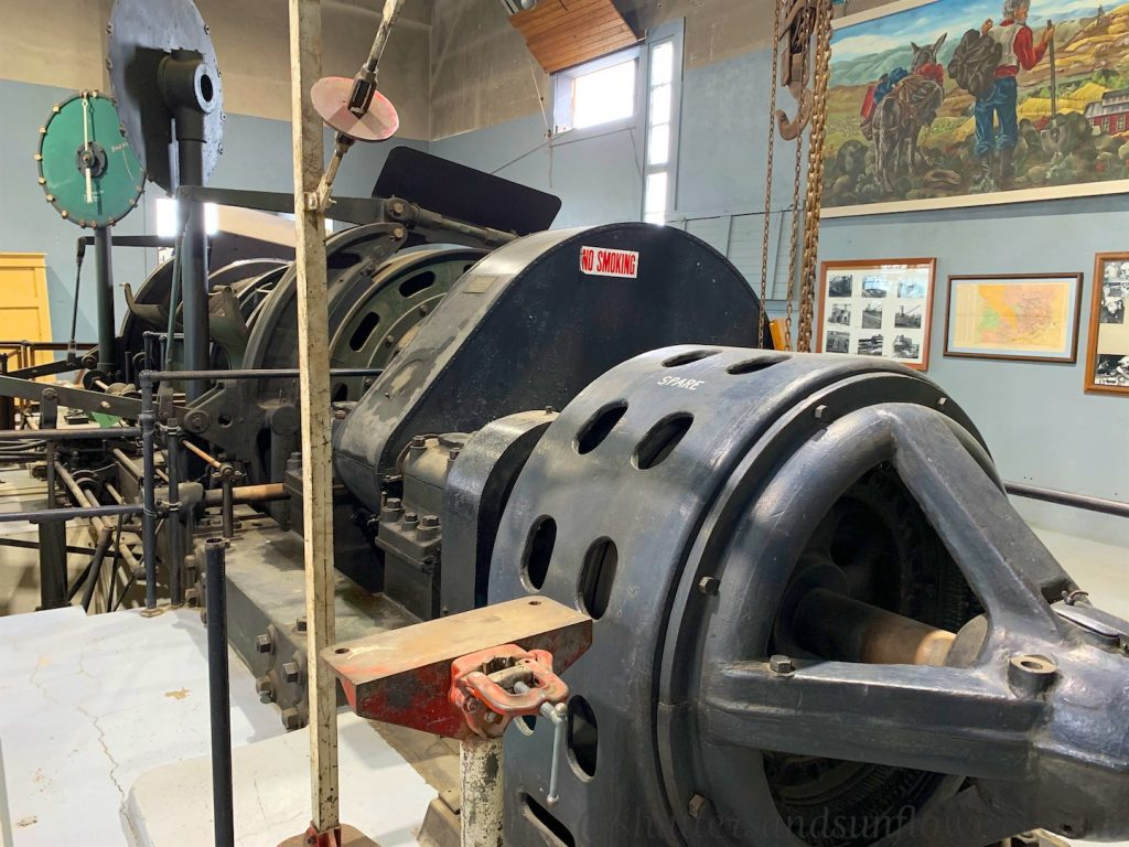 Machinery on Mining Tour in Butte, Montana, USA