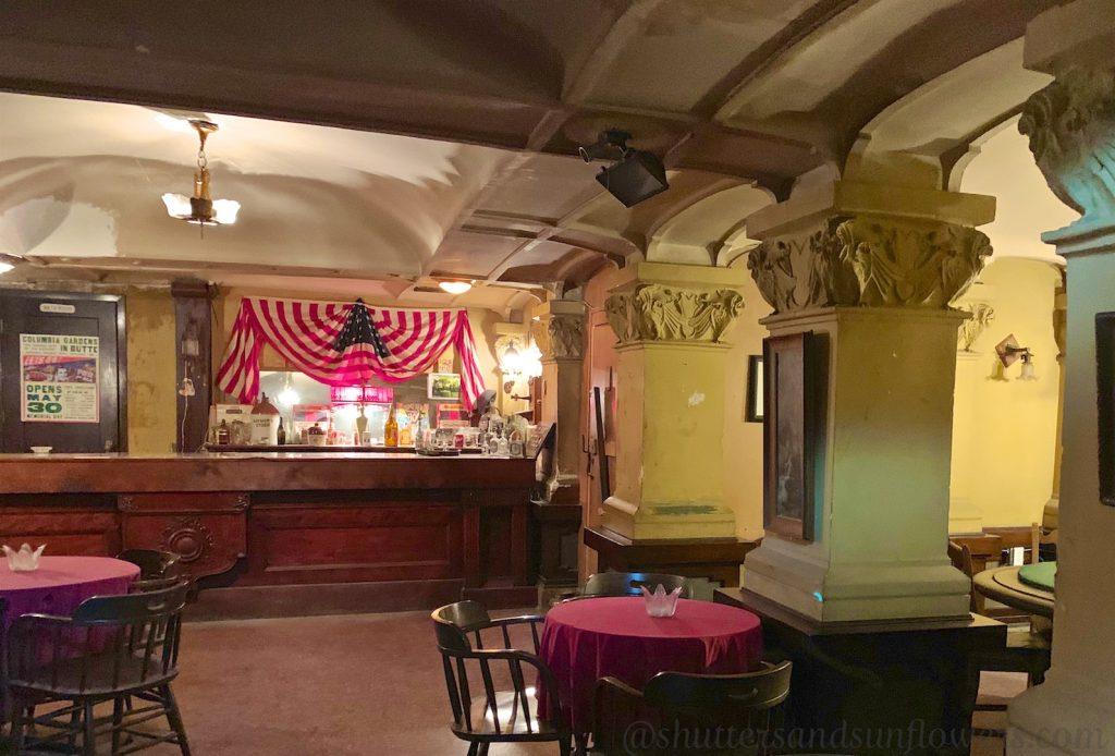 Speakeasy in Rookwood Hotel, Butte, Montana, USA